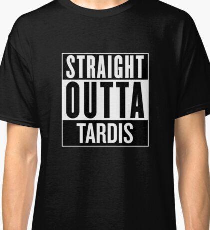 Straight Outta Tardis Classic T-Shirt
