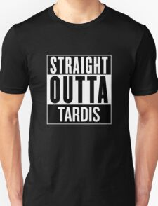 Straight Outta Tardis T-Shirt