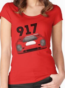 Porsche 917 Women's Fitted Scoop T-Shirt