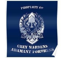 Property of Adamant Poster