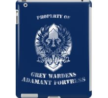 Property of Adamant iPad Case/Skin