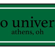 Ohio University Sticker