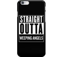 Straight Outta Weeping Angels iPhone Case/Skin