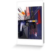 Abstract composition 124 Greeting Card