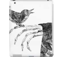 Death and the Nightingale iPad Case/Skin