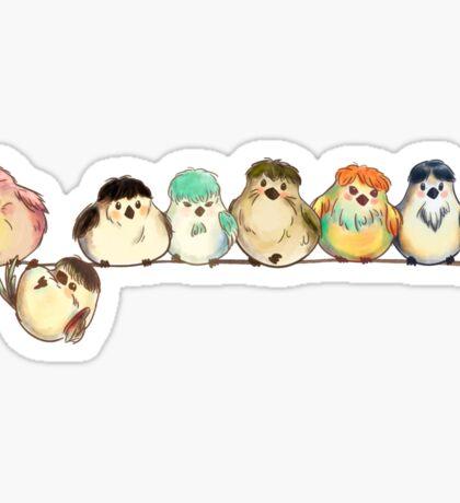 Baebsae Birds Sticker