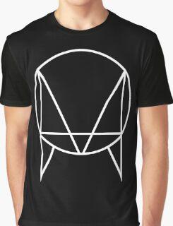 OWLSA Black and White Graphic T-Shirt