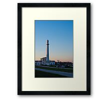 Louisville Water Tower At Sunset Framed Print