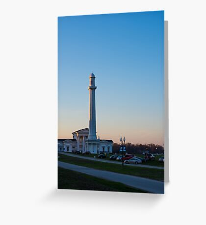 Louisville Water Tower At Sunset Greeting Card