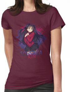 Fate Series - Tohsaka Rin Womens Fitted T-Shirt
