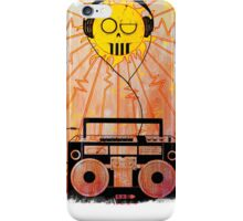 Sol Music - White Letters iPhone Case/Skin