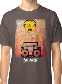 Sol Music - White Letters Classic T-Shirt