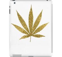 Gold Jamaican Marijuana  iPad Case/Skin