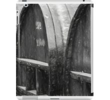 The Wine Barrels - Charcoal Impression iPad Case/Skin