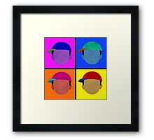 Minimalist/Andy Warhol Recreation of Ness - Comes in Everything Framed Print