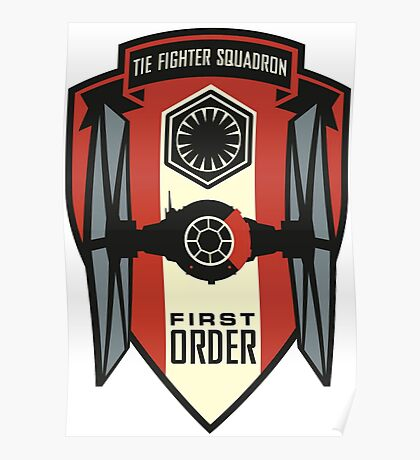The First Order Fighter Squadron Poster