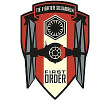 The First Order Fighter Squadron Photographic Print