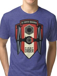 The First Order Fighter Squadron Tri-blend T-Shirt