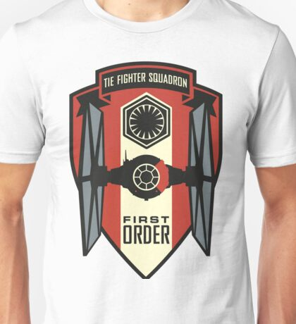 The First Order Fighter Squadron Unisex T-Shirt