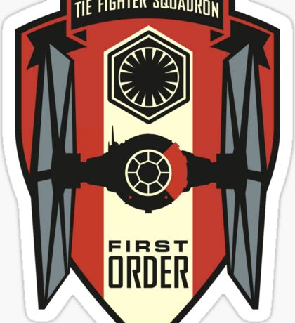 The First Order Fighter Squadron Sticker