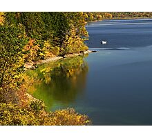 Autumn At Woodcock Dam - Pennsylvania Photographic Print