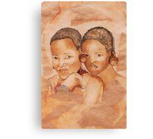Zulu Girls Canvas Print