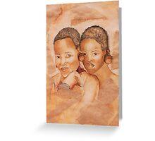 Zulu Girls Greeting Card