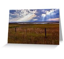 Light Upon the Water - Montana Greeting Card