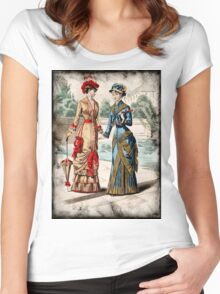 FASHIONABLE LADIES VINTAGE 25 Women's Fitted Scoop T-Shirt