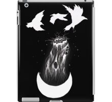 'The Priestess' Inverted Ink Drawing iPad Case/Skin