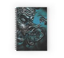The Devil in the Deep Blue Sea Spiral Notebook