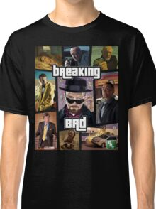 Breaking Bad / Grand Theft Auto Crossover (Clear Frame) Classic T-Shirt