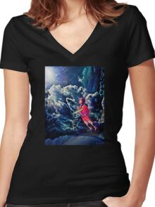 Behold, This Dreamer Cometh... Women's Fitted V-Neck T-Shirt