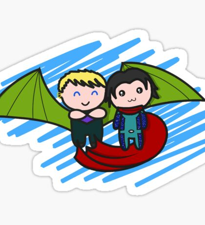 cutie babies Sticker