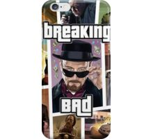 Breaking Bad / Grand Theft Auto Crossover (Clear Frame) iPhone Case/Skin