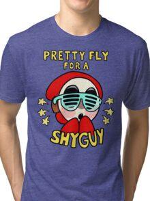 pretty fly for a shy guy Tri-blend T-Shirt