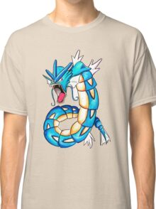 Gyarados watercolor Classic T-Shirt