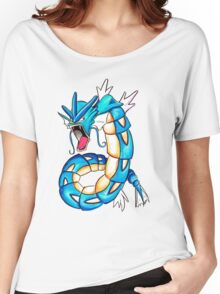 Gyarados watercolor Women's Relaxed Fit T-Shirt