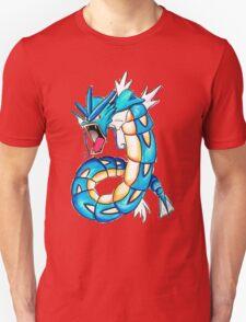 Gyarados watercolor T-Shirt