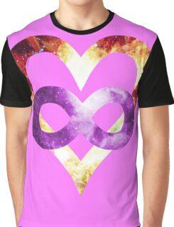 Purple Tye Dye NGC-2264 | Polyamory Logo 2.0 | Team Poly Official Shirt Graphic T-Shirt