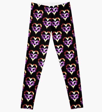 Purple Tye Dye NGC-2264   Polyamory Logo 2.0   Team Poly Official Shirt Leggings