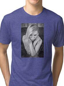 Cross My Heart Tri-blend T-Shirt