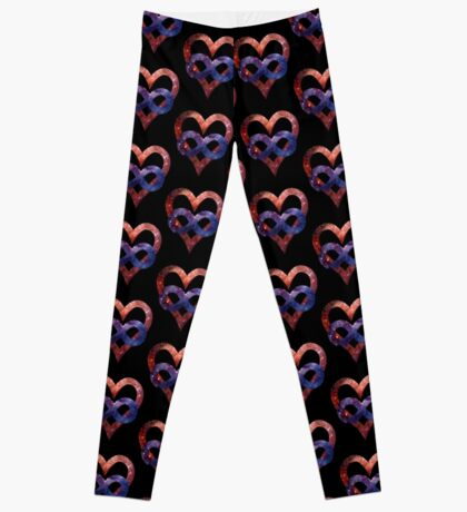 Space Love [Tarantula Nebula]   Polyamory Logo 2.0   Team Poly Official Shirt Leggings