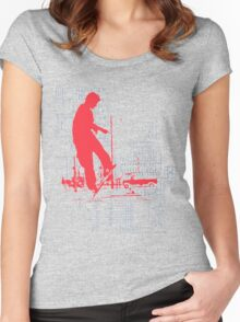 tech god Women's Fitted Scoop T-Shirt