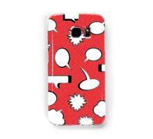 Comic Book Pow - Red Samsung Galaxy Case/Skin