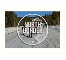 North Border Apparel (Artistic Logo) Art Print