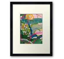 Secret Springtime Maps #1 Framed Print