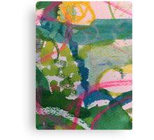 Secret Springtime Maps #1 Canvas Print