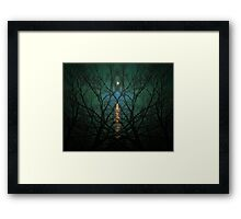 Embrace The Night Framed Print