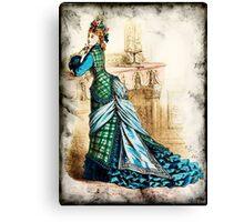 FASHIONABLE LADIES VINTAGE 30 Canvas Print